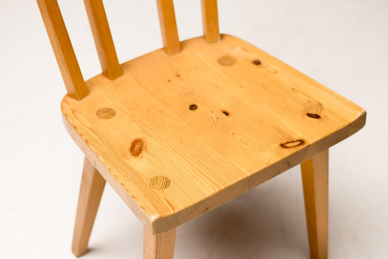 Pine Dining Set by Carl Malmsten For Sale 7