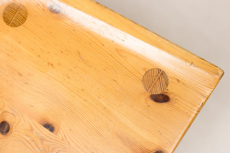 Pine Dining Set by Carl Malmsten For Sale 8