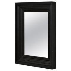 Pine-Framed Painted Wall Mirror