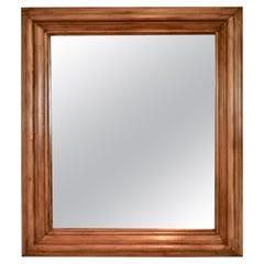 Pine-Framed Wall Mirror