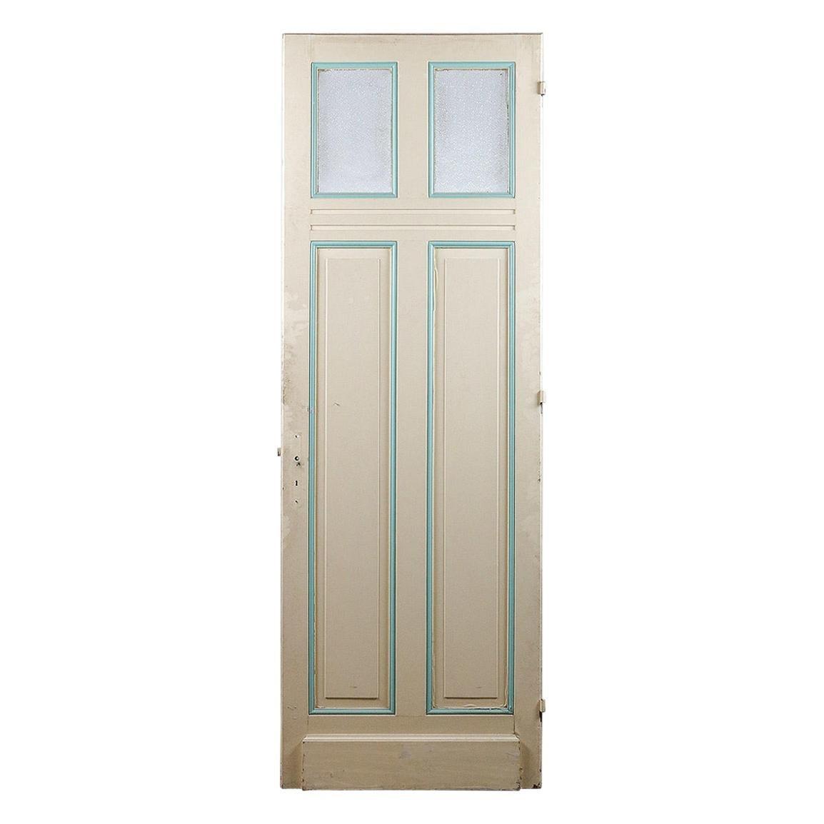 Pine Glazed Internal Door from France, 20th Century