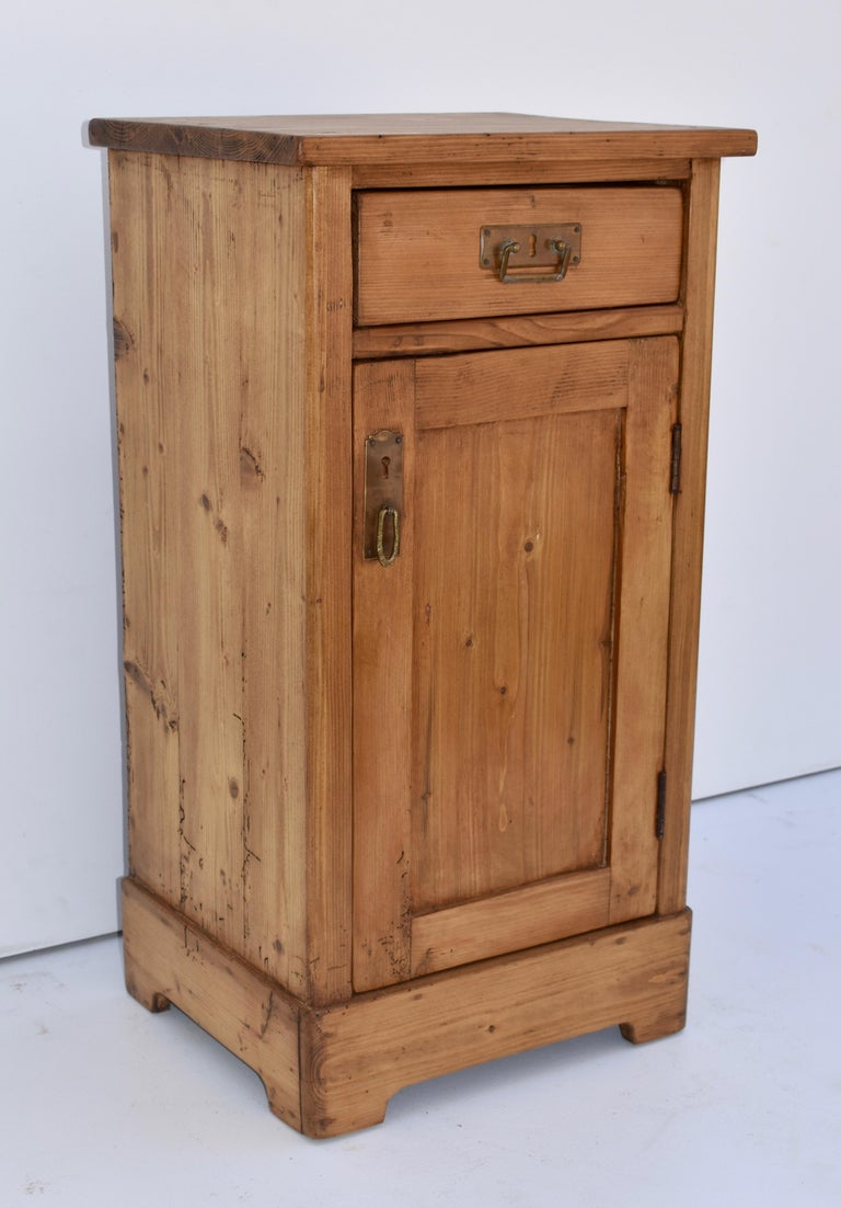 Country Pine Nightstand For Sale