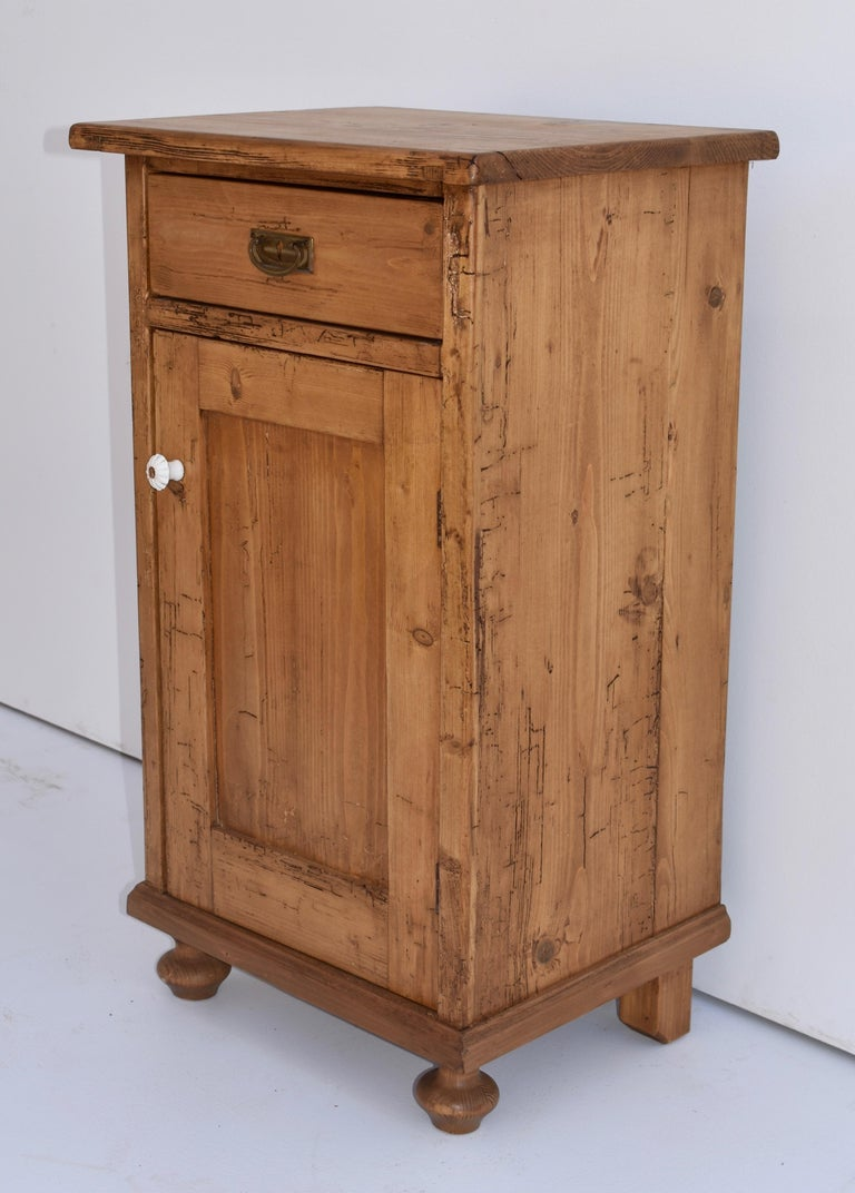 Hungarian Pine Nightstand For Sale