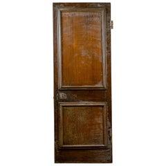 Pine / Oak Panelled Interior Door, 20th Century