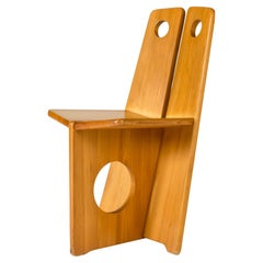 Pine Occasional Chair by Gilbert Marlund