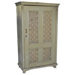 Pine Painted Antique Armoir