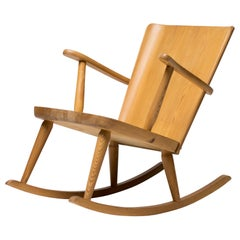 Pine Rocking Chairs by Göran Malmvall