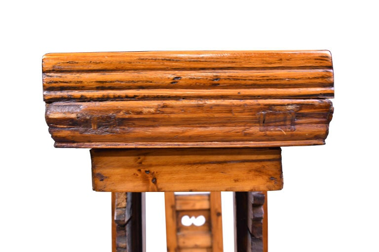 Elm and Pine Shanxi Altar Table, China, 20th Century For Sale 7