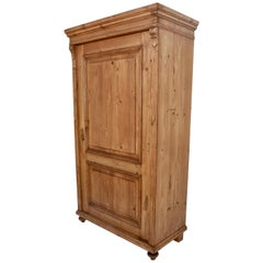 Pine Single Door Armoire