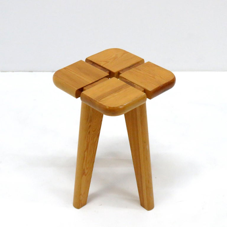 Mid-20th Century Pine Stools Finland, 1960 For Sale