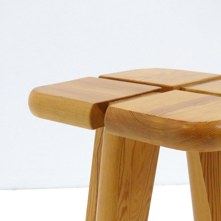 Pine Stools Finland, 1960 For Sale 2