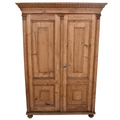 Pine Two-Door Armoire
