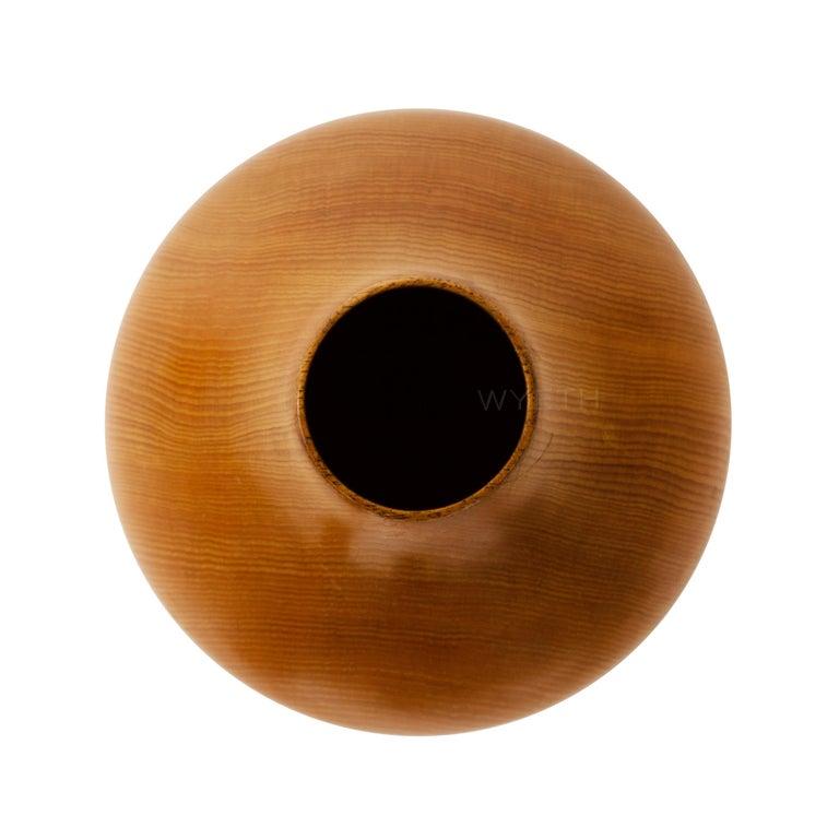 Mid-Century Modern Pine Vase For Sale