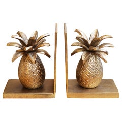 Pineapple Set of 2 Bookends