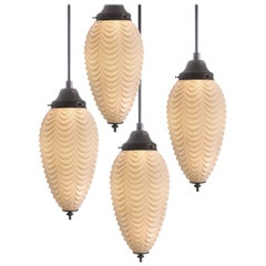 Pinecone Shaped Pendents, Draped Pattern