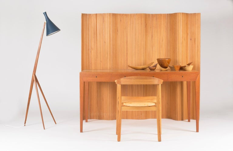 Pinewood Room Divider by Alvar Aalto For Sale 1
