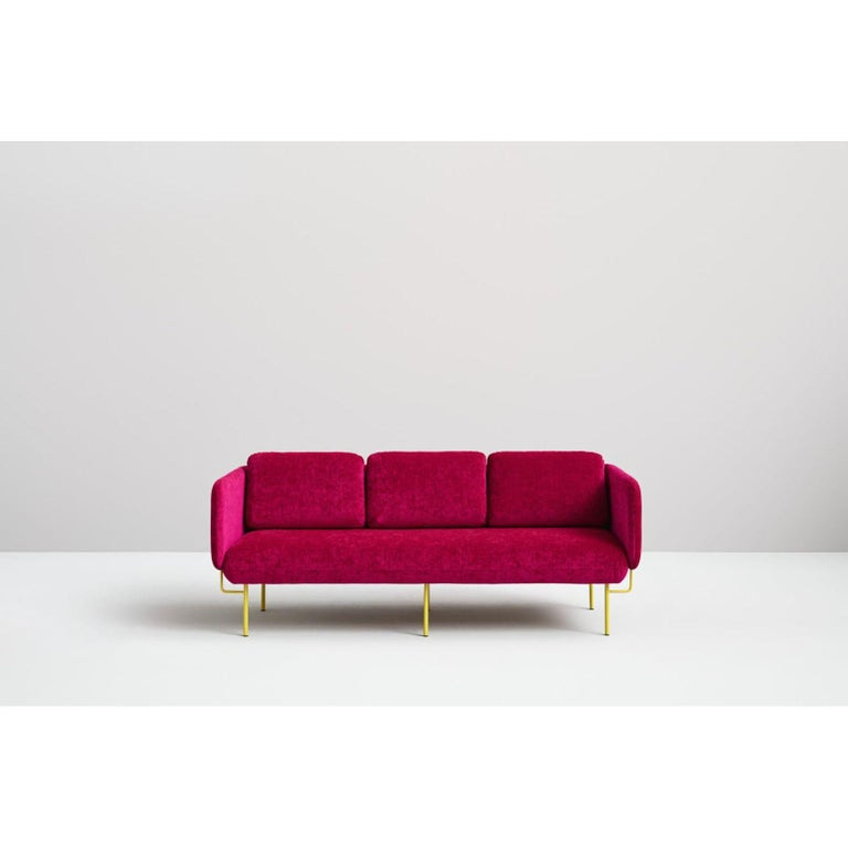 Post-Modern Pink Alce Sofa, Small by Chris Hardy For Sale
