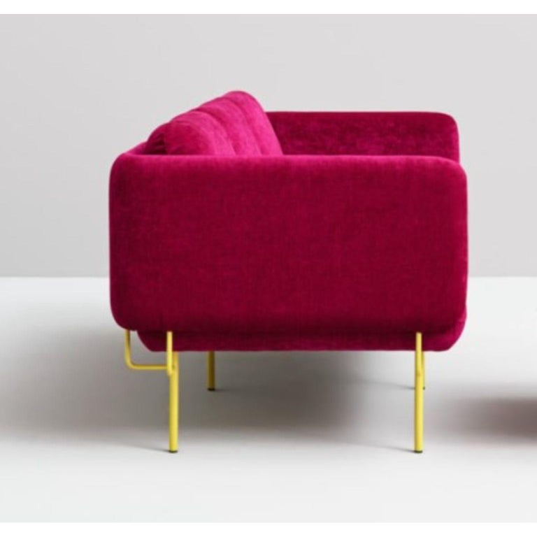 Contemporary Pink Alce Sofa, Small by Chris Hardy For Sale