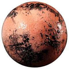 Pink and Black B-Human 4.0 Decorative Clay Sphere