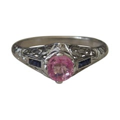 Pink and Blue Sapphire
