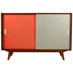 Pink and Grey Sideboard by Jiří Jiroutek for Interiér Praha, 1960s