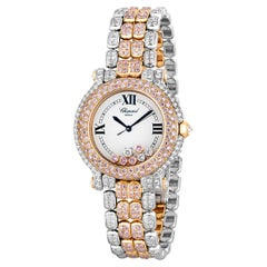 Pink and White Diamond Watch by Chopard