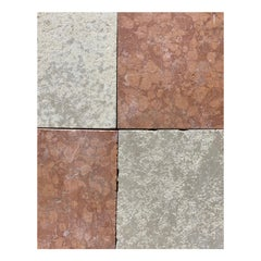 Pink and White Italian Marble Tiles