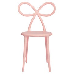Pink Baby Ribbon Chair by Nika Zupanc, Made in Italy