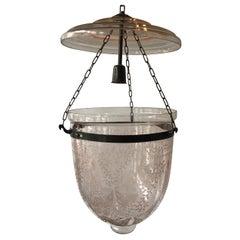 Pink Bell Jar Lantern