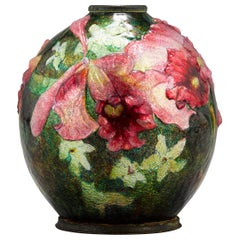 Pink Bloom Vase by Camille Fauré