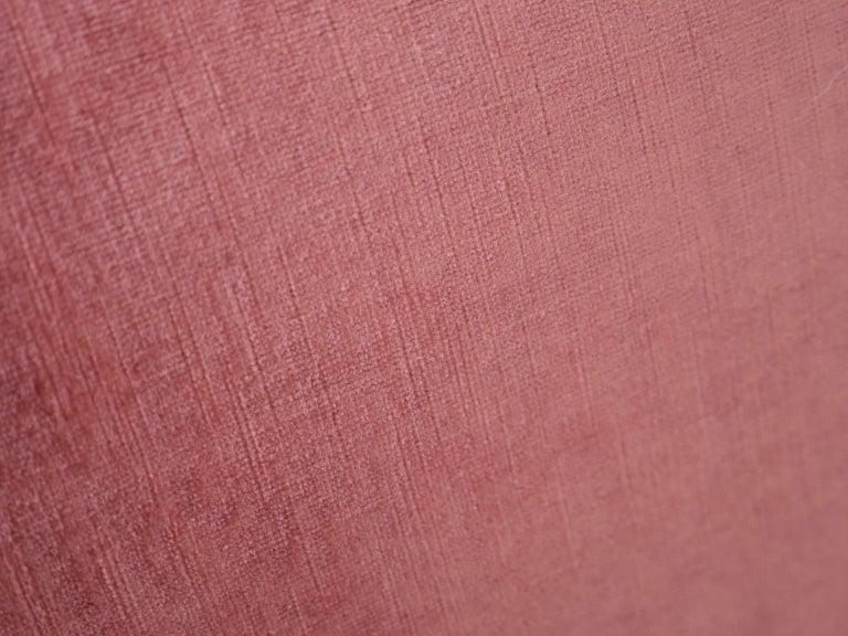 Pink Capri Swivel Chair by Johannes Andersen for Trensum For Sale 1