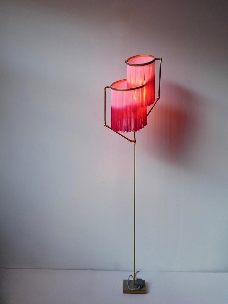 Post-Modern Pink Charme Floor Lamp, Sander Bottinga For Sale