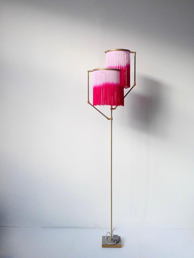 Pink Charme Floor Lamp, Sander Bottinga In New Condition For Sale In Collonge Bellerive, Geneve, CH