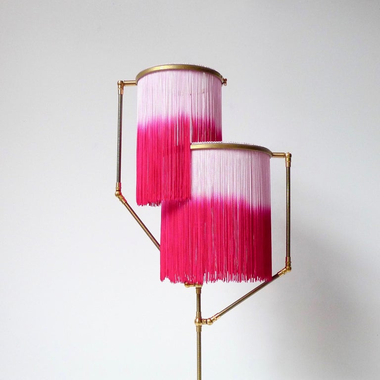 Contemporary Pink Charme Floor Lamp, Sander Bottinga For Sale