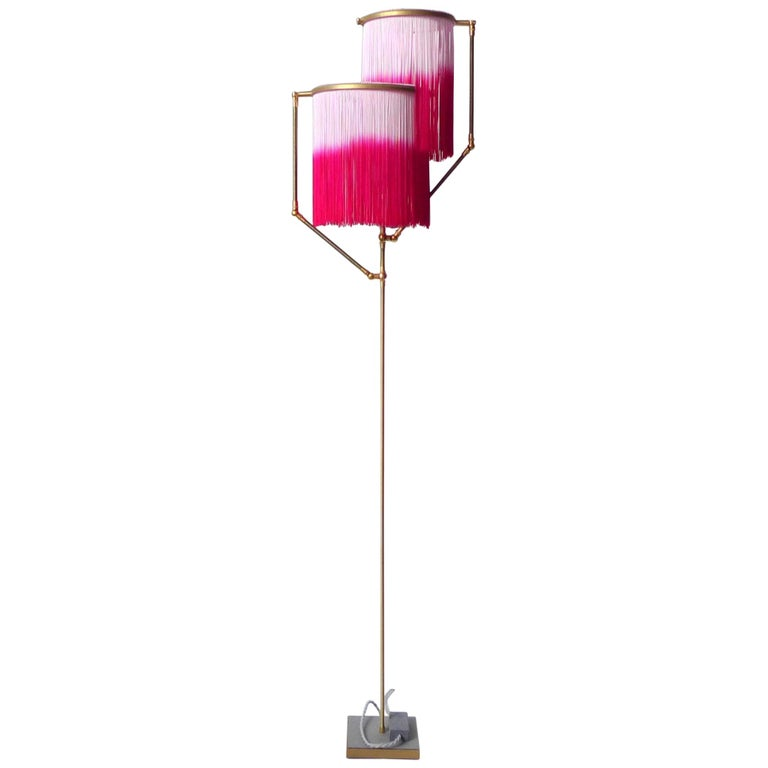 Pink Charme Floor Lamp, Sander Bottinga For Sale