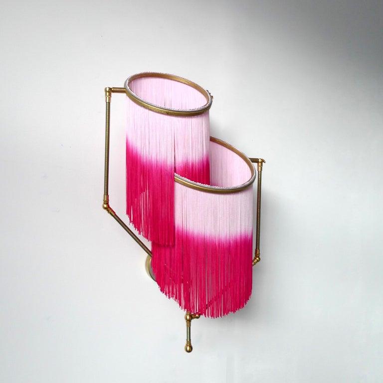 Post-Modern Pink Charme Sconce Lamp, Sander Bottinga For Sale