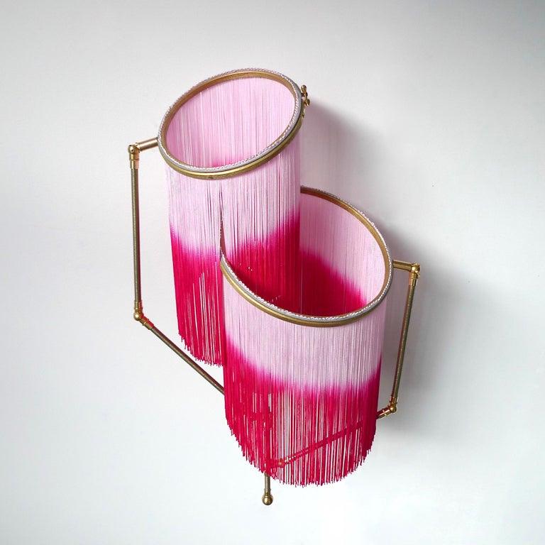 Dutch Pink Charme Sconce Lamp, Sander Bottinga For Sale