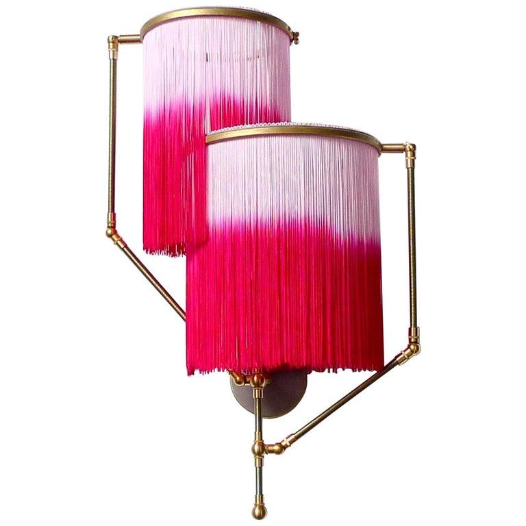 Pink Charme Sconce Lamp, Sander Bottinga For Sale