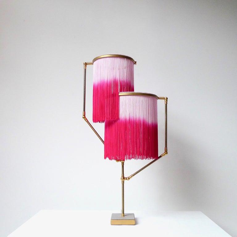 Dutch Pink Charme Table Lamp, Sander Bottinga For Sale