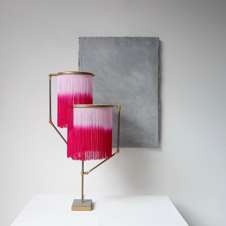Pink Charme Table Lamp, Sander Bottinga In New Condition For Sale In Geneve, CH