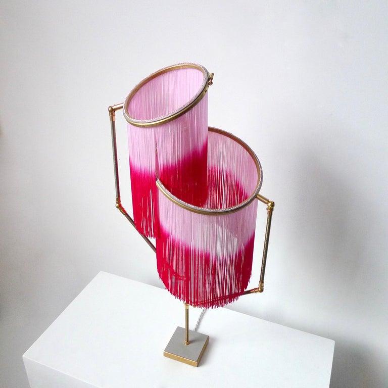 Contemporary Pink Charme Table Lamp, Sander Bottinga For Sale