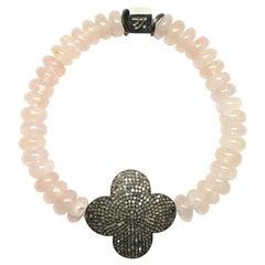 Pink Divinity Flower Bracelet