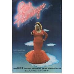 Pink Flamingos 1973 U.S. Mini Film Poster