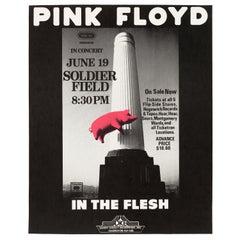 Pink Floyd Original Vintage Concert Poster by Randy Tuten, 1977