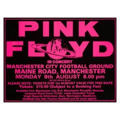 Pink Floyd Original Vintage Concert Poster, Manchester, England, 1988