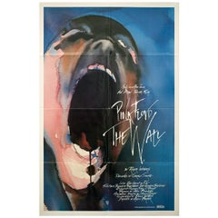 Pink Floyd The Wall 1982 U.S. One Sheet Film Poster