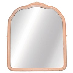 Pink French Provincial Mirror