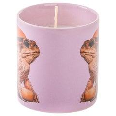Pink frog candle NWOT