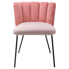 Pink Gaia Dining Chair, Designed by Monica Armani, Made in Italy