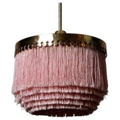 Pink Hans-Agne Jakobsson Ceiling Lamp Model T601, 1960s